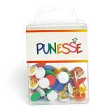 Punesse - Puntine Da Disegno - 70 Pezzi - Colori Assortiti - Art.07060