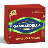 Gambardella Tovaglioli Doppio Velo 33X33Cm 25 Pezzi - Rosso