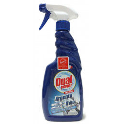 Dual Power Professional Argento Vivo Spray 500Ml - Detergente Per Argenteria