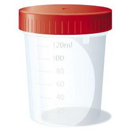 Setablu Contenitore Sterile Per Analisi Delle Urine Con Etichetta