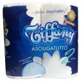 Tiffany Carta Casa Asciugatutto - 2 Maxi Rotoli - Trama Ad Alta Assorbenza