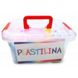 Baule Plastilina - Pasta Modellabile - 900 Grammi - 26 Colori