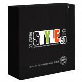 Style Tovaglioli In Carta Due Veli Ovattati - 33X33Cm - 50 Pezzi - Nero
