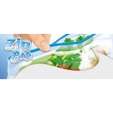 Dealo Sacchi Frigo Con Zip Apri E Chiudi 26X28Cm - 10 Pezzi - O Congelatore