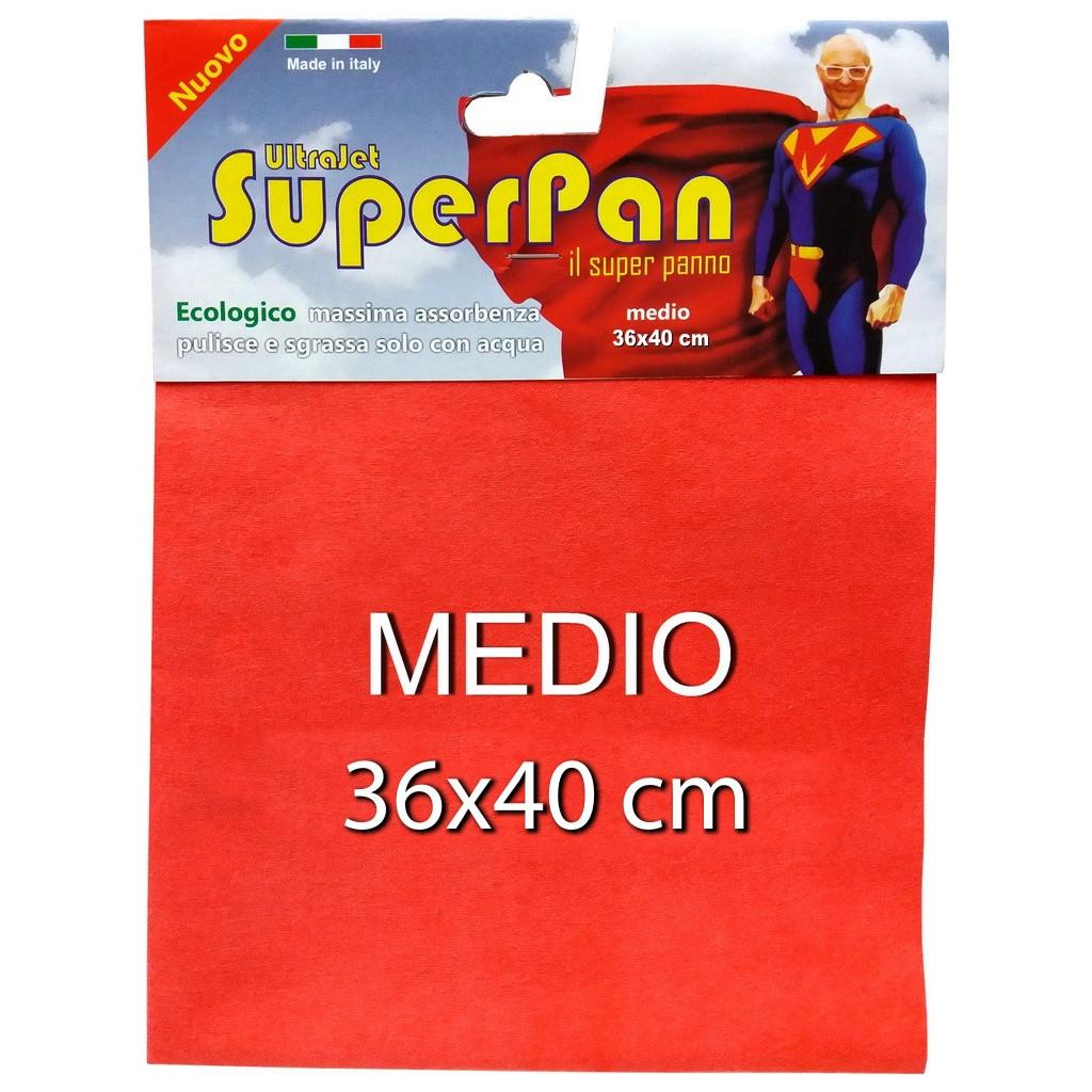 Panno Evolution Microjet.Superpan Ultrajet Panno Microfibra Medio 38x45cm Colori