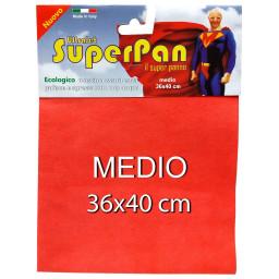 Superpan Ultrajet Panno Microfibra Medio 36X40Cm - Colori Assortiti