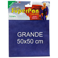 Superpan Ultrajet Panno Microfibra Grande 50X50Cm - Colori Assortiti