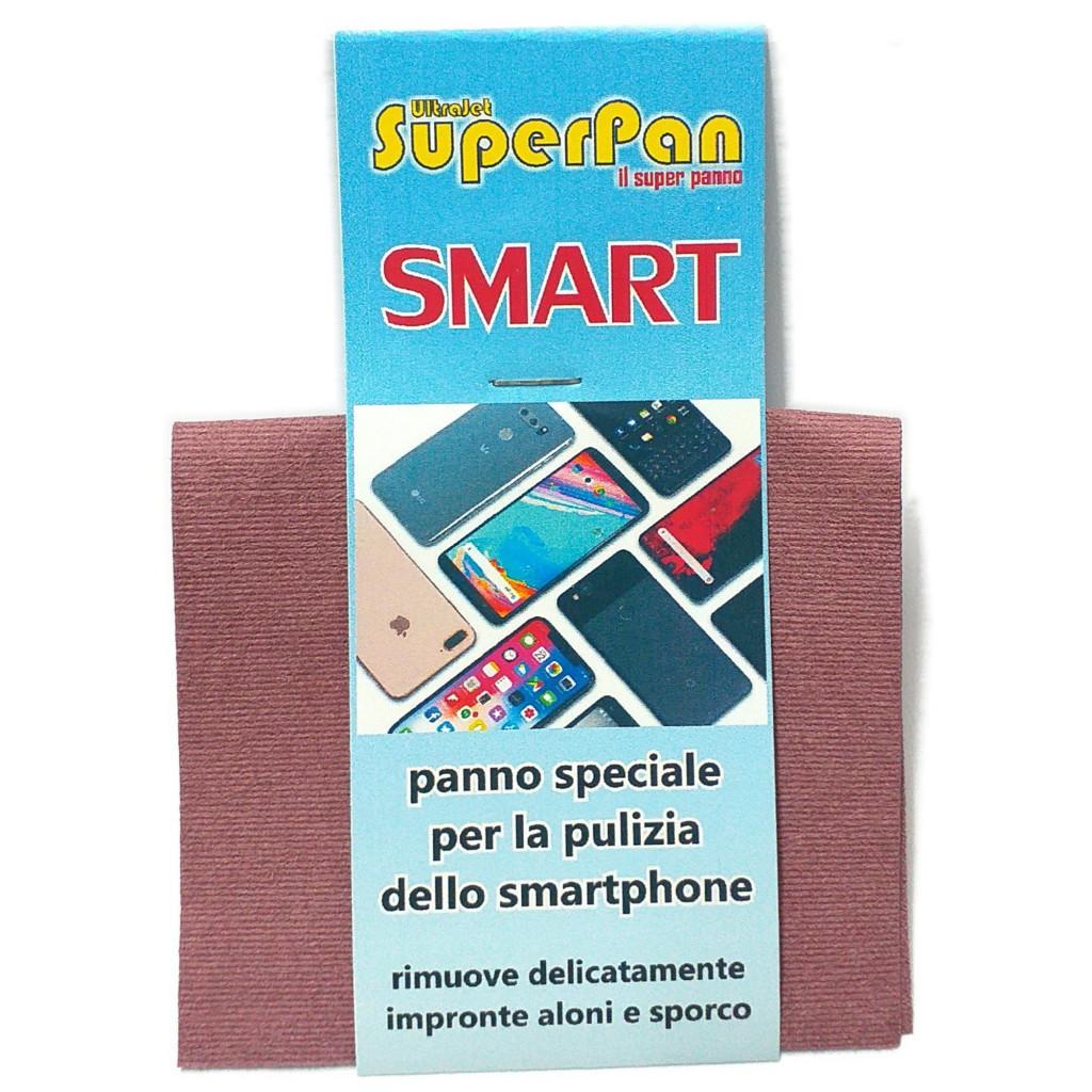 Panno Evolution Microjet.Superpan Ultrajet Smart Panno Speciale Pulizia Smartphone