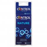 Control Nature Profilattici - 12 Pezzi - Ottima Lubrificazione - Naturale