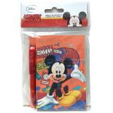 Agenda - 100 Fogli - 9X11Cm - Con Penna Automatica - Disney - Mickey Mouse