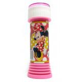 Bolle Di Sapone - 60Ml - Con Gioco Sul Tappo - Disney Minnie Mouse