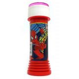 Bolle Di Sapone - 60Ml - Con Gioco Sul Tappo - Marvel Spiderman