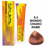 Struktis Crema Colorante Per Capelli 100Ml - N. 8.4 Biondo Chiaro Rame
