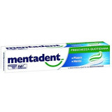 Mentadent Dentifricio - 100Ml - Freschezza Quotidiana - Fluoro - Menta