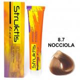 Struktis Crema Colorante Per Capelli 100Ml - N. 8.7 Nocciola
