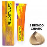 Struktis Crema Colorante Per Capelli 100Ml - N. 8 Biondo Chiaro