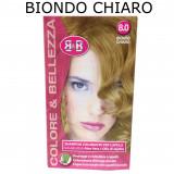 B&b Bellezza Benessere Shampoo Colorante Capelli - N. 8 Biondo Chiaro