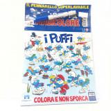 Album Da Colorare Con Pennarello Magico - I Puffi