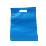 Bustina In Tnt 27X18Cm Tinta Unita - Azzurro